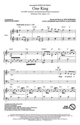 One King: Arr. (Phillip Keveren): SATB