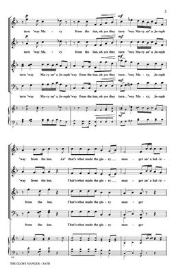 The Glory Manger: Arr. (Robert DeCormier): SATB