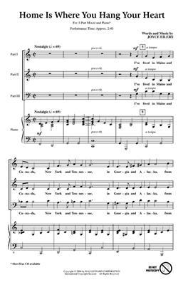 Joyce Eilers: Home Is Where You Hang Your Heart: 3-Part Choir