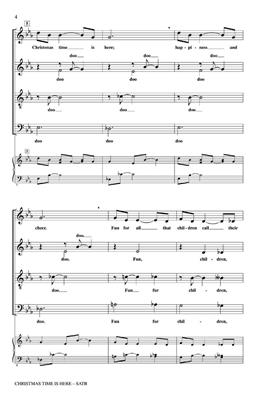 Lee Mendelson: Christmas Time Is Here: Arr. (Audrey Snyder): SATB