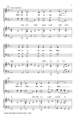 Hark! The Herald Angels Sing: Arr. (Kirby Shaw): SATB