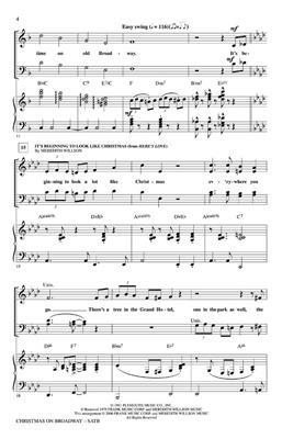 Christmas on Broadway (Medley): Arr. (John Higgins): SATB