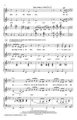 Christmas on Broadway (Medley): Arr. (John Higgins): SSA