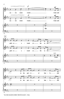 Til the Season Comes Round Again: Arr. (Mark Brymer): 2-Part Choir