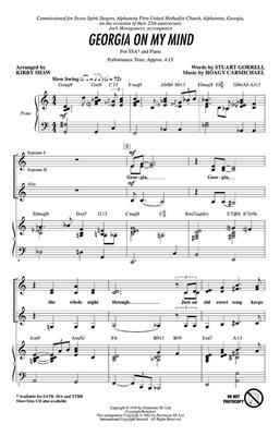 Hoagy Carmichael: Georgia on my mind: Women's Choir