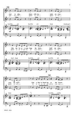 Pablo Beltrán Ruiz: Sway (Quien Será): Women's Choir