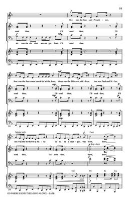 Go Where I Send Thee Sing-along: Arr. (Nick Page): Mixed Choir