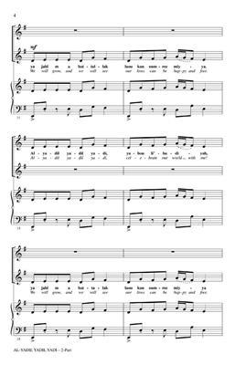 Al-yadil yadil yadi: Arr. (John Higgins): 2-Part Choir