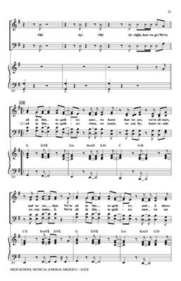 Audrey Snyder: High School Musical 1 (Choral Medley): Mixed Choir
