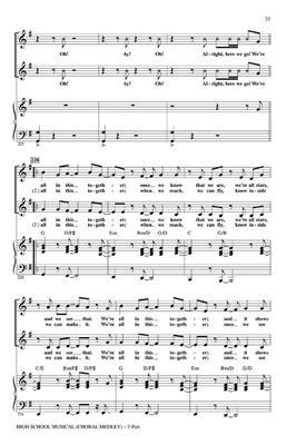 High School Musical 1 (Choral Medley): Audrey Snyder