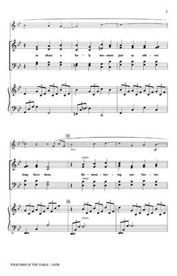 Jan McGuire: Together at the Table of the Lord: SATB