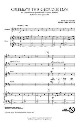 Cristi Cary Miller: Celebrate This Glorious Day!: 2-Part Choir