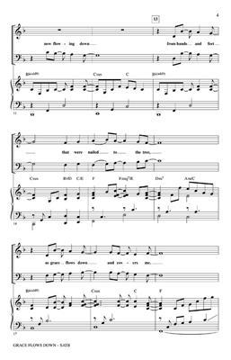 Lloyd Larson: Grace Flows Down with Amazing Grace: Mixed Choir