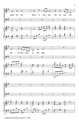 Christmas Cradle Lullaby: Arr. (Benjamin Harlan): SATB