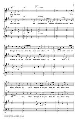Four little angels: Arr. (Mark Brymer): 2-Part Choir