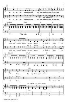 John Jacobson: Snow Day: 3-Part Choir