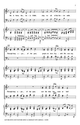 Hal Leonard: Let Heaven and Nature Sing -A Medley of Carols