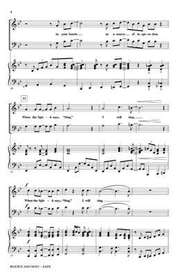 Rollo Dilworth: Rejoice and Sing!: SATB