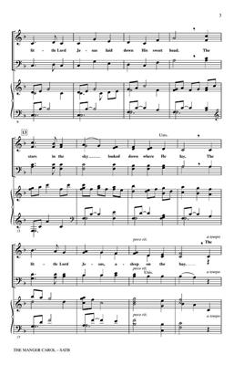 James Ramsey Murray: The Manger Carol: Arr. (Audrey Snyder): SATB