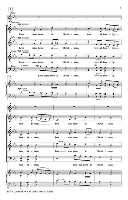 Love came down at Christmas: Arr. (Roger Emerson): SATB