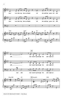 Cristi Cary Miller: Peace on This Silent Night: 3-Part Choir