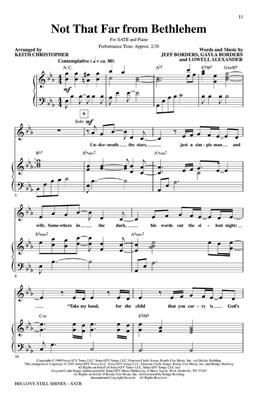 His Love Still Shines: Arr. (Keith Christopher): SATB