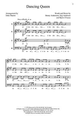 ABBA: Dancing Queen: Mixed Choir
