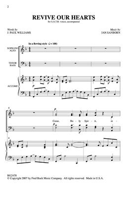 J. Paul Williams: Revive Our Hearts: Mixed Choir