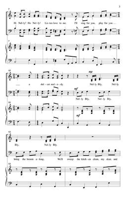 Stephen Foster: Nelly Bly: Arr. (Jack Halloran): Mixed Choir