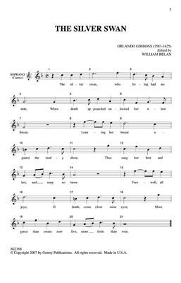 Orlando Gibbons: The Silver Swan: Mixed Choir
