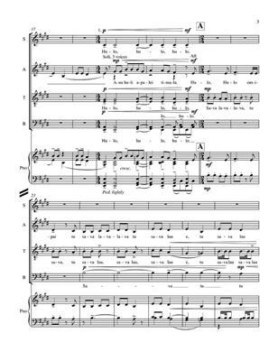 David Fanshawe: Pacific Song: SATB