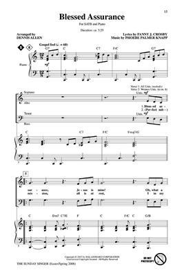 Daybreak Music: The Sunday Singer - Easter/Spring 28
