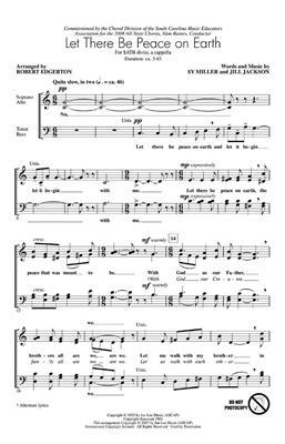 Jill Jackson: Let There Be Peace On Earth: Arr. (Robert Edgerton): Double Choir