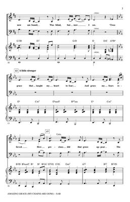 Chris Tomlin: Amazing Grace (My Chains Are Gone) (SATB): Arr. (Tom Fettke): Mixed Choir