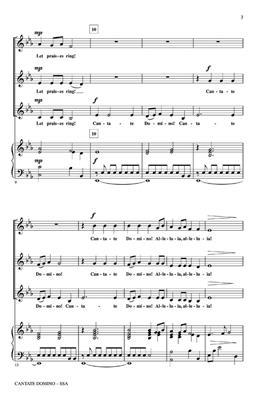 Laura Farnell: Cantate Domino: SSA