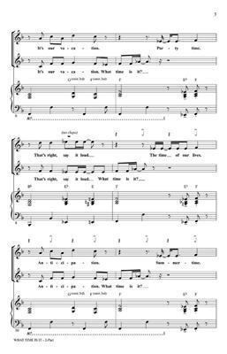 Matthew Gerrard: What time is it (from High School Mus.2): Arr. (Ed Lojeski): 2-Part Choir