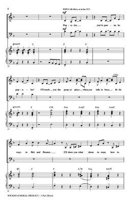 Hal Leonard: Wicked Choral medley