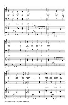God and Country Celebration: Arr. (Dave Williamson): SATB