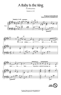 Nanci Milam: A Baby Is The King: SATB