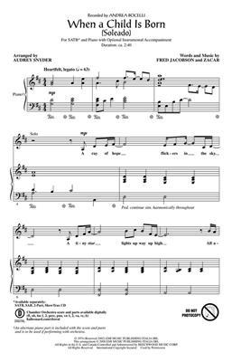 Hal Leonard: When a child is born (Soleado)