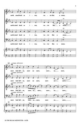 In the bleak Midwinter: Arr. (Roger Emerson): SATB