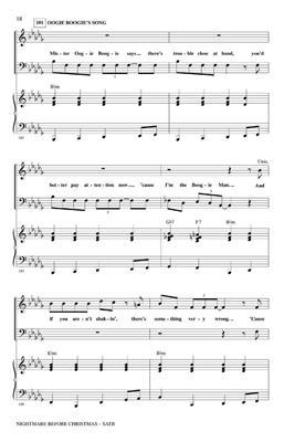 Danny Elfman: The Nightmare Before Christmas: Mixed Choir