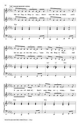 Danny Elfman: Nightmare Before Christmas: Arr. (Alan Billingsley): 2-Part Choir