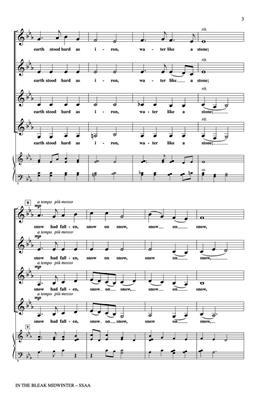 Roger Emerson: In the Bleak Midwinter: Women's Choir
