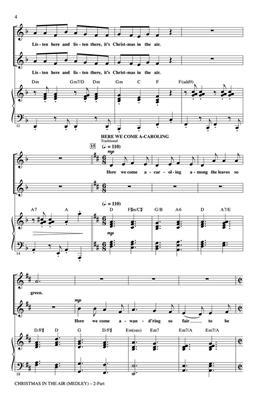 Christmas in the Air: Arr. (Cristi Cary Miller): 2-Part Choir