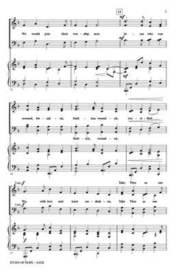 Dan Forrest: Hymn of Hope: SATB