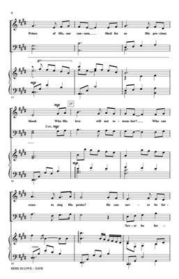 Here Is Love: Arr. (Dan Forrest): SATB