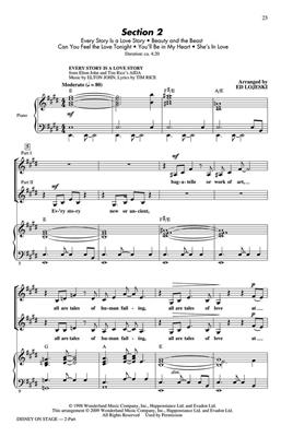 Ed Lojeski: Disney on Stage (Medley): Women's Choir