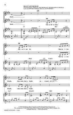 Disney on Stage (Medley): Arr. (Ed Lojeski): 2-Part Choir