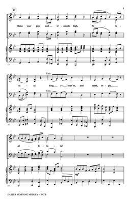 Easter Morning Medley: Arr. (Gary Lanier): SATB